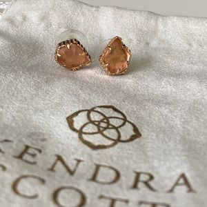 Kendra Scott Rose gold stud Earrings